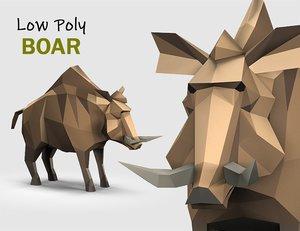animations polys 3D model