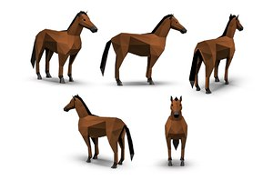 3D model animations polys