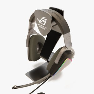 3D delta rog headphone stand