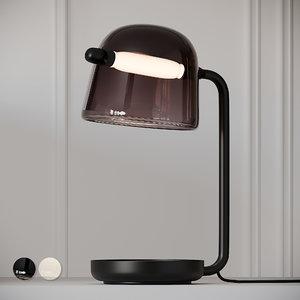 3D table lamp brokis mona model