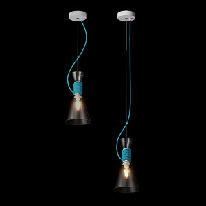 3D pendant lamp california lighting interior