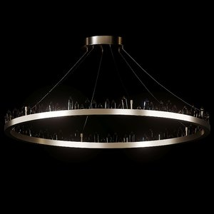 3D ceiling chandelier - gletscher model