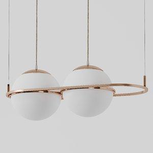 ceiling mingardo dec pendant lamp 3D model