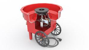 machine cotton candy model