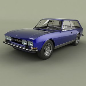 1971 peugeot 504 break model