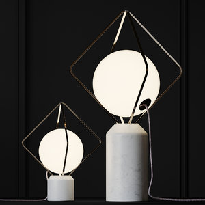 table lamp brokis jack o 3D model