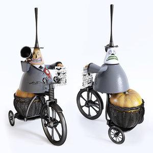 toy mayor 3D model