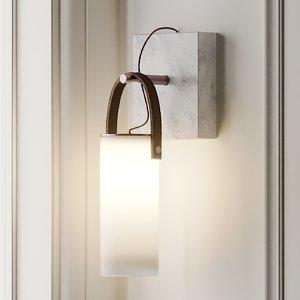 galerie fontanaarte wall light 3D model