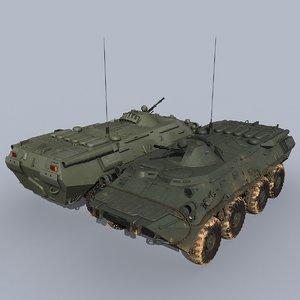 russian btr-80 3D