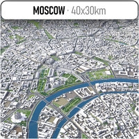 Moscow - city and surrounding area