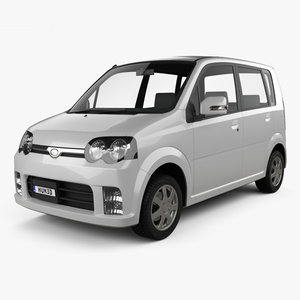 daihatsu custom 2004 3D model