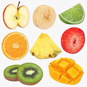 fruit slice 3D model
