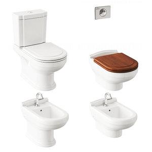 3D toilet villeroy boch hommage