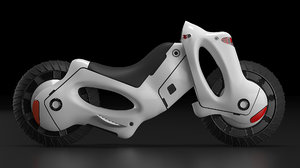 motorcycle concept model