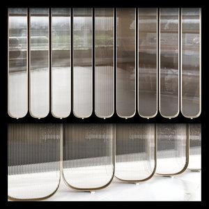 3D partition corrugated