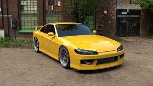 nissan silvia s15 sports car 3D model