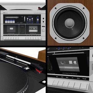 stereo 80s 1985 3D