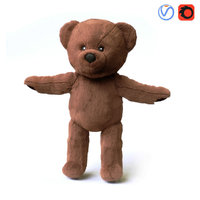 Brunbjorn Soft toy bear