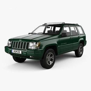 3D jeep grand cherokee