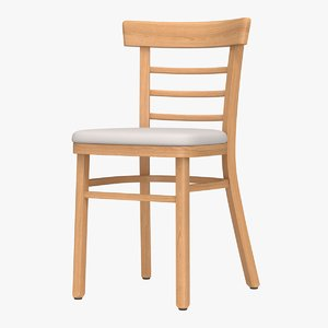 realistic dining chair 3D