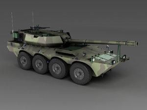 centauro italian tank destroyer model