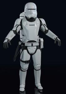 3D trooper
