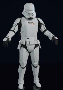 jet trooper 3D model