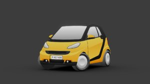3D vehicle car smart model