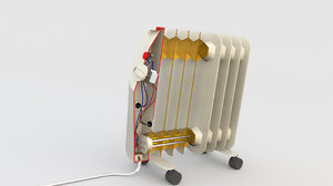 electric oil heater model
