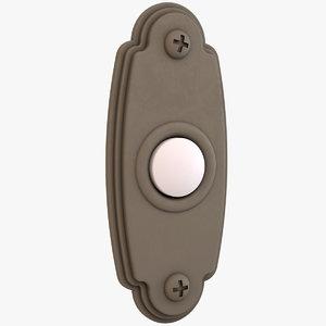 doorbell door bell 3D