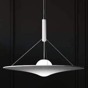 ceiling axolight manto 3D model