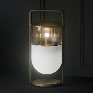 3D table lamp poltrona frau