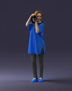scanned ready 3D model