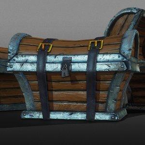3D ready treasure chest