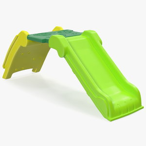 plastic kids folding slide 3D