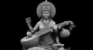 god saraswati model