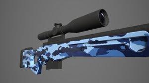 3D arctic warfare magnum blue
