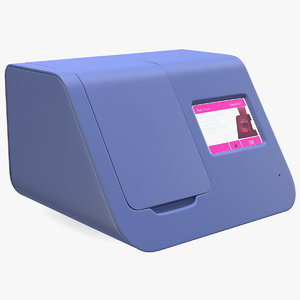 covid19 sample test machine 3D
