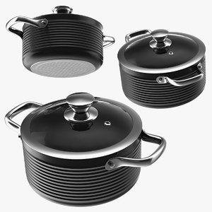 cooking pot lid set model