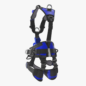 body harness generic 3D model