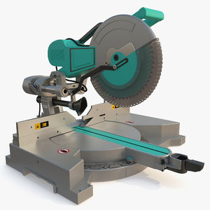 3D sliding miter saw generic model