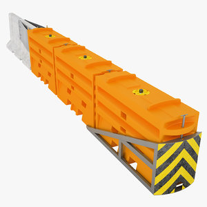traffix sled barrier 3D model