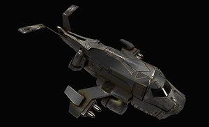 3D space jet model