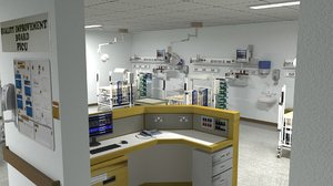 3D model pediatric intensive care unit