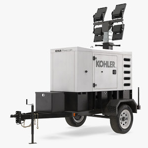 kohler mobile generator 3D model