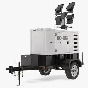 kohler mobile generator 3D model
