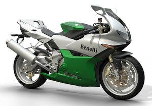3D benelli tornado 900 motorcycle model