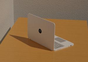 3D laptop revit model