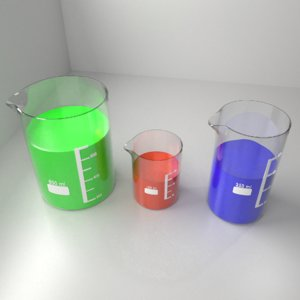 3D 150ml 250ml 800ml glass