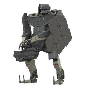 robot warbot 3D model